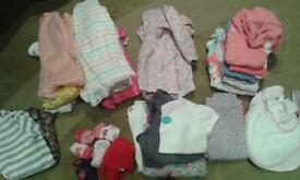 baby girl 9-12 months clothes bundle
