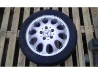 Mercedes A140 alloy wheels with tyres (set of 4)