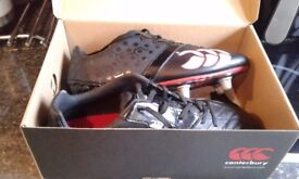 Canterbury rugby boots 5.5 like new