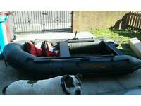 Fox fx 290 inflatable boat