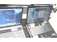 LAPTOPS DELL-HP-TOSHIBA-PACKARD BELL-ACER WITH AND WITHOUT CAMERAS ALL WORKING AVAILABLE FOR SALE
