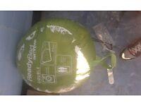 INFLATABLE SLEEPING BAG GAS HOB/GRILL TENT