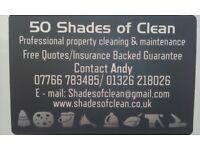 50 SHADES OF CLEAN (PROFESSIONAL CLEANING & MAINTENANCE SERVICES