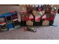 imaginex castle and gotham cityjail