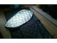 Silver screens for renault traffic camper vivaro nissen primastar