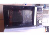 "NEW !!! Microwave "" SWAN "" BLACK COLOR"