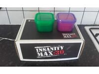 Insanity max 30 and portion containers
