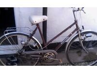 Lady's centurion bike