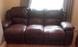 3 and 2 seater recliner Sofa set.