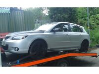 2006 Mazda 3 2.0 Sport 5dr silver manual BREAKING FOR SPARES