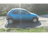 Ford Ka. No MOT. Running well. Need to sell as have no room for it anymore.
