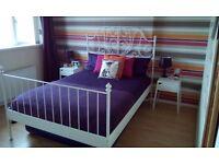 IKEA Cream Double Bed