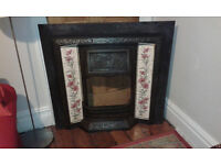 Cast Iron reproduction fireplace