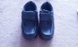 Infant boys size 12 school shoes
