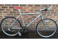 19 inch Marin Nail Trail MTB aluminium Hybrid bike slick tyres Mavic Wheels