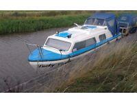 25ft buckingham canal cruiser