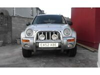 Jeep cherokee 3.7 lpg converted Limited Edition