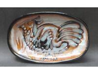 Large Platter - Vintage Mid Century Woolmill Studio Pottery