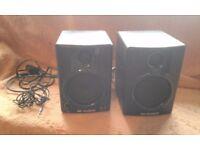 M audio active studio monitors - Used