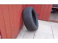 Michelin tyre run flat
