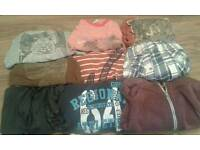 LOVELY BUNDLE OF BOYS CLOTHES AGE 8-9