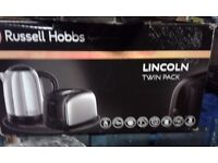 "BRAND NEW !!! Electric KETTLE & TOASTER "" Russell Hobbs "" OXFORD - LINCOLN - YORK"