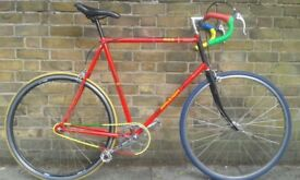 80s Raleigh singlespeed. MADE IN ENGLAND. Large size. Check my other Bicycles