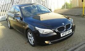 BMW 520 D, 2007 manual, diesel, 6 speed, hpi clear, full service history, front and rear sensors etc
