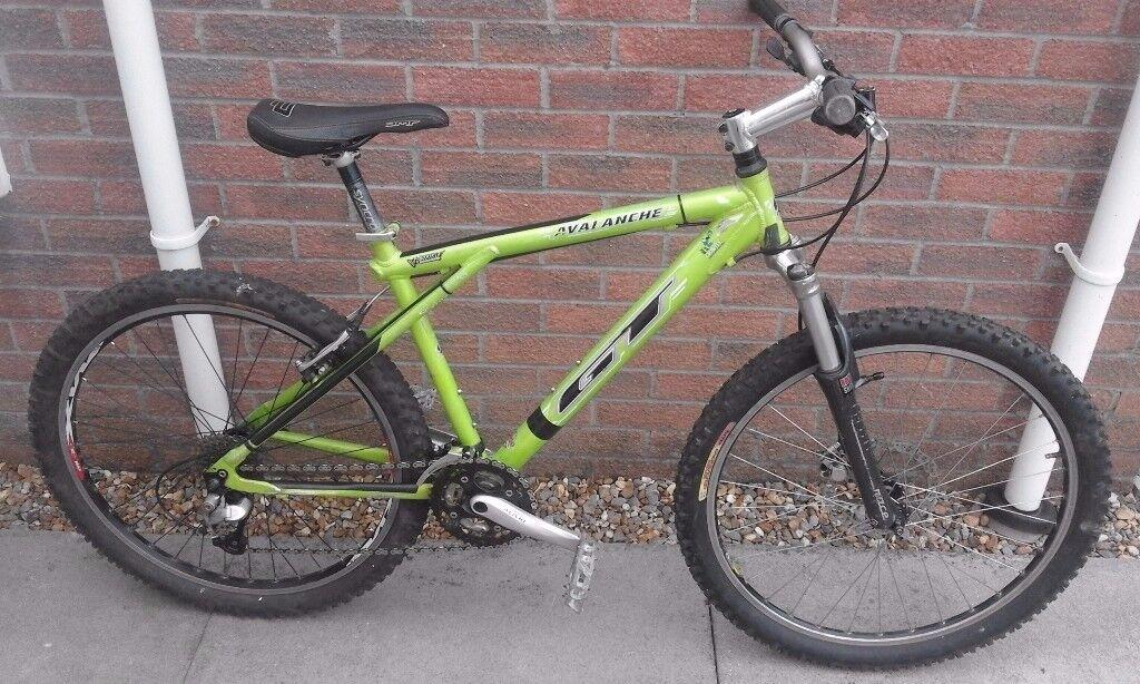 GT Avalanche 7000 Aluminium Hardtail Frame Hope Hydraulic Disc Brake Mountain Bike Bicycle