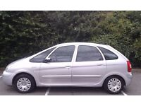 Very clean CITROËN XSARA PICASSO DESIRE 2, 2005 (55), 1.6Ltr Petrol