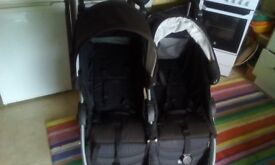 Britax side by side double buggy
