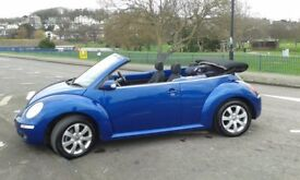 Rare opportunity to buy a 1.8 Turbo charged VW Beetle convertible