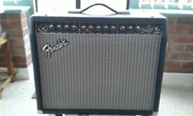 Fender Deluxe 90 DSP electric guitar amplifier.
