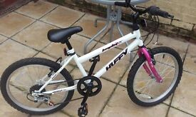 Girls Huffy 20 inch bike, only used a few times, fantastic condition.
