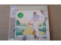Elton John Goodbye Yellow Brick Road on yellow vinyl