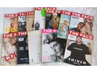 THE FACE magazines 2000s