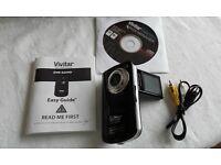 Vivitar DVR 620HD camera and video