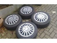 "GENUINE BMW 16"" WINTER STEEL WHEELS 3 SERIES 1 SERIES E87 E88 BRIDGESTONE ALLOYS TYRES"
