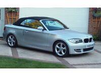 BMW 1 series 118D Se Convertible 2.0 Manual Diesel 2009 Silver