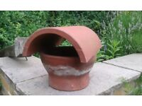 Chimney pot rain cover