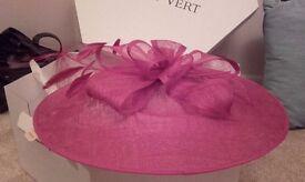 Ladies pink hat (Jacques Vert)/ fascinator