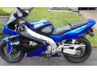 Yamaha YZF1000R Thunderace.