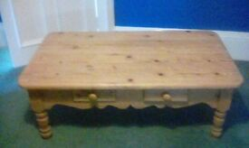 Rustic Pine Occassional Table