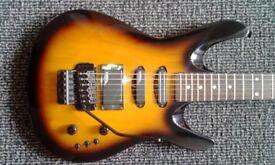 Washburn kc70v (1990) electric guitar