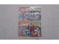 Original 70s marvel covers laminated various titles