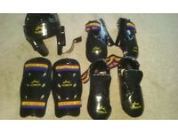 TAGB Taekwondo sparing equipment