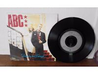 ABC TEARS ARE NOT ENOUGH VINYL SINGLE