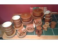 Hornsea Saffron 65 piece Dinner and Tea service.