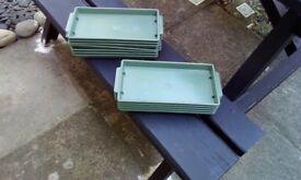 12 brand new trays