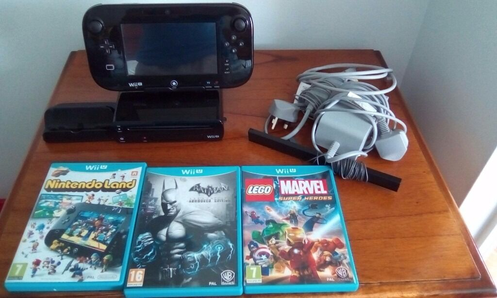 Nintendo Wiiu and gamesin Coulby Newham, North YorkshireGumtree - Nintendo Wii U games console for sale and three games included, Batman arkham city, Nintendo land, Lego marvel superhero. Excellent condition rarely used
